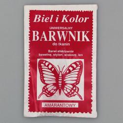 Kangavärv/riidevärv amarant punane